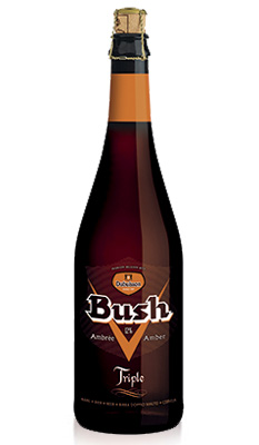 Bush ambrée triple 75 cl Image