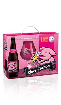 Rince Cochon rouge coffret Image