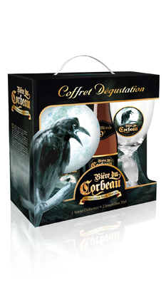 Corbeau blonde coffret 33cl Image
