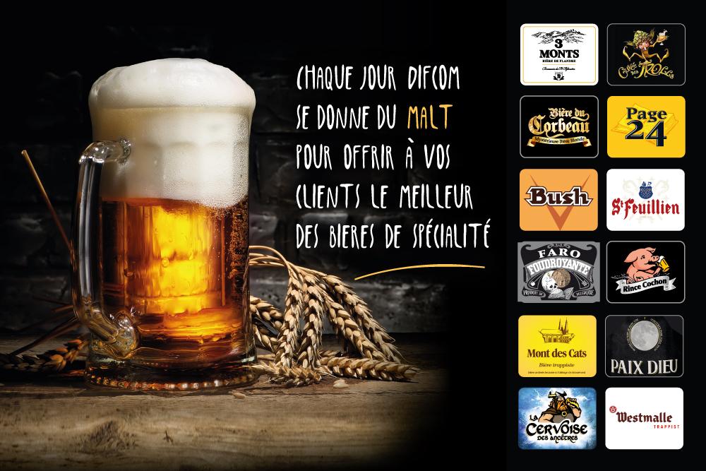 Le meilleur des bières de spécialité !