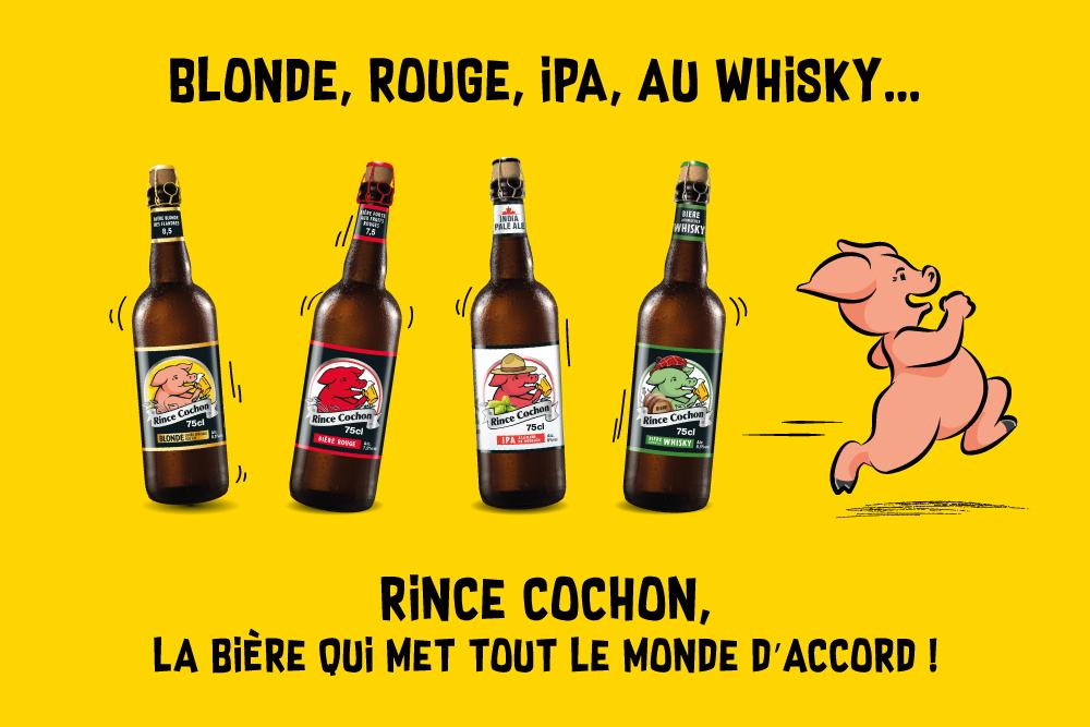 Rince Cochon, la bière qui met tout le monde d'accord !