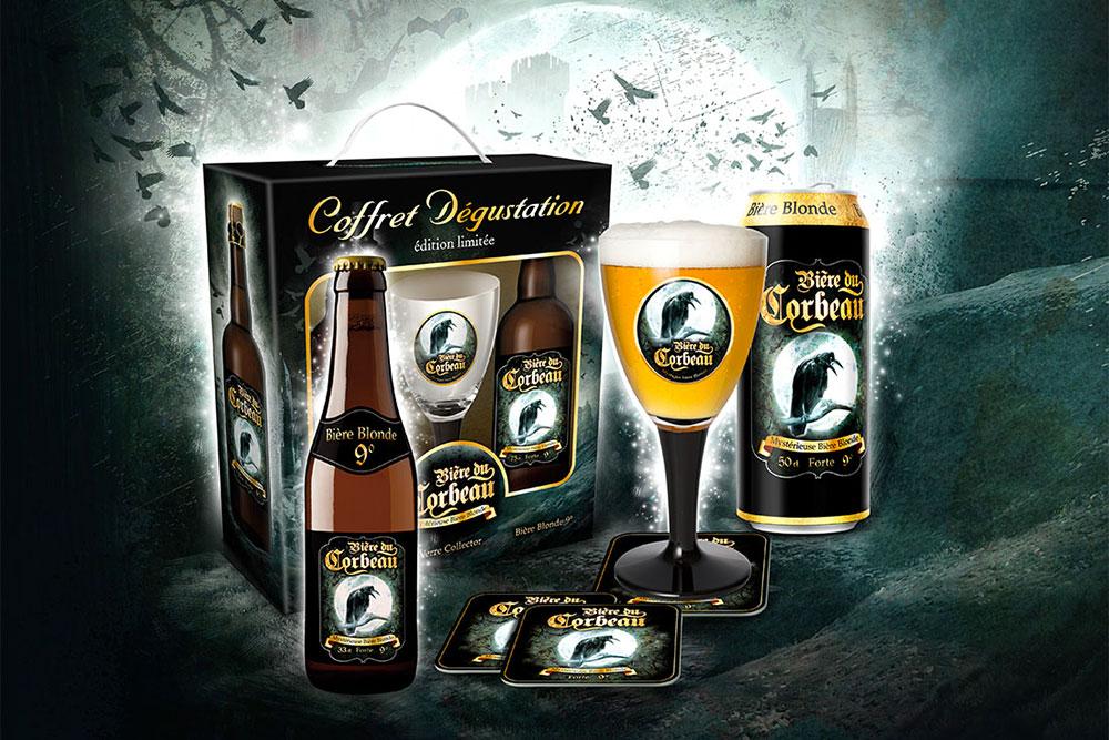 Savourez la bière du Corbeau